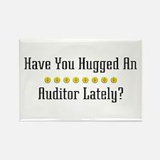 Hugged Auditor Rectangle Magnet