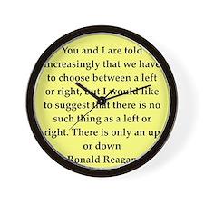reagan12.png Wall Clock
