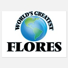 World's Greatest Flores Invitations