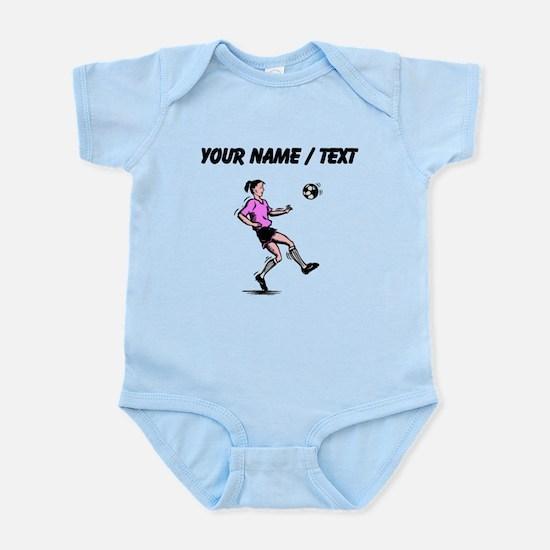 Custom Girl Soccer Player Body Suit