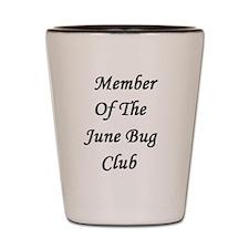 June Bug Club Shot Glass