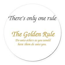 Unique Rules Round Car Magnet