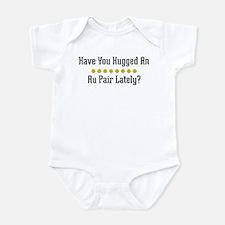 Hugged Au Pair Infant Bodysuit