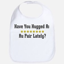 Hugged Au Pair Bib