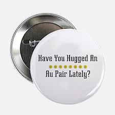 """Hugged Au Pair 2.25"""" Button (10 pack)"""