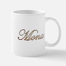 Gold Mona Mugs