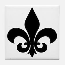 fleur-de-lis new size Tile Coaster