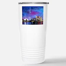 TorontoToronto Skyline Stainless Steel Travel Mug