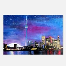 TorontoToronto Skyline at Postcards (Package of 8)