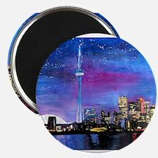 TorontoToronto Skyline at Night Magnets
