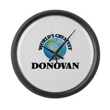 World's Greatest Donovan Large Wall Clock