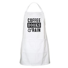 Coffee Books and Rain Apron