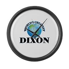World's Greatest Dixon Large Wall Clock