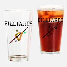 Billiards Equipment Drinking Glass