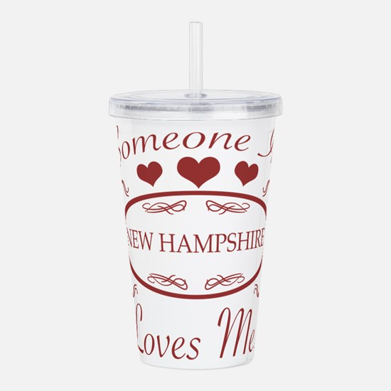Somebody In New Hampsh Acrylic Double-wall Tumbler