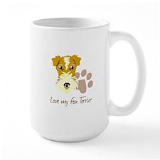 Love my Fox Terrier Mugs