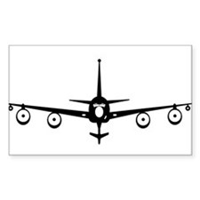 KC-135 Solid Black Decal