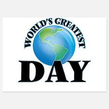 World's Greatest Day Invitations
