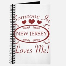 Somebody In New Jersey Loves Me Journal