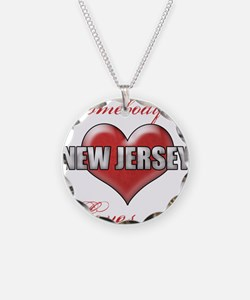 Somebody In New Jersey Loves Necklace