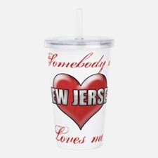 Somebody In New Jersey Acrylic Double-wall Tumbler