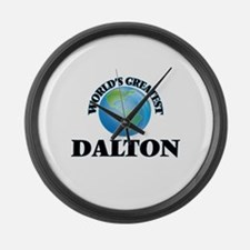 World's Greatest Dalton Large Wall Clock