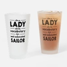 Educated Sailor Drinking Glass
