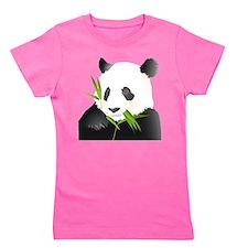 Panda Bear Girl's Tee