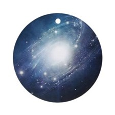 Galaxy Cluster Ornament (Round)