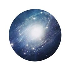 """Galaxy Cluster 3.5"""" Button"""