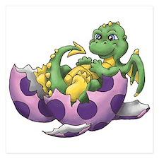 Baby dragon Invitations