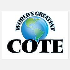 World's Greatest Cote Invitations