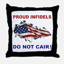 Terror-Free Oil Throw Pillow