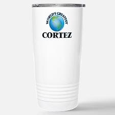 World's Greatest Cortez Travel Mug