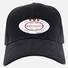 Somebody In North Dakota Loves Me Baseball Hat