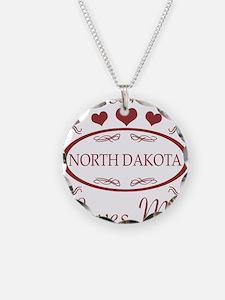 Somebody In North Dakota Lov Necklace