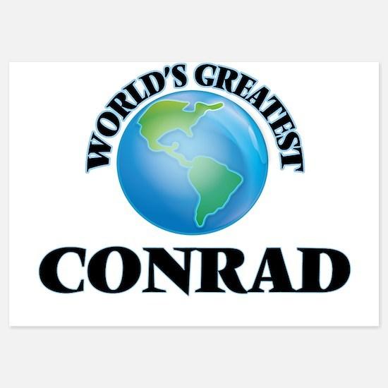 World's Greatest Conrad Invitations