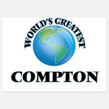 World's Greatest Compton Invitations