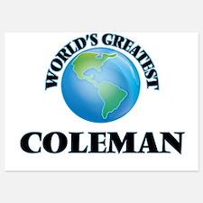 World's Greatest Coleman Invitations