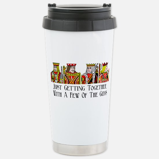 Just Getting Together W Stainless Steel Travel Mug