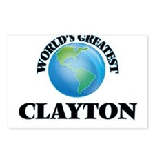 World's Greatest Clayton Postcards (Package of 8)