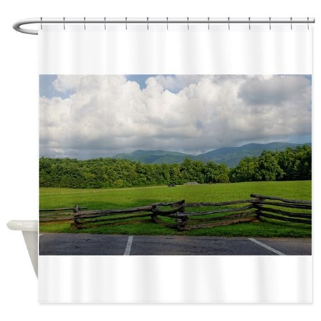 Scenic Landscapes Shower Curtain By Strikingshowercurtains