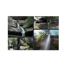 Waterfalls  Caves Collage, Ohio Magnets