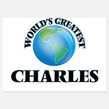 World's Greatest Charles Invitations