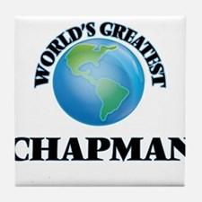 World's Greatest Chapman Tile Coaster