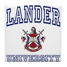 LANDER University Tile Coaster