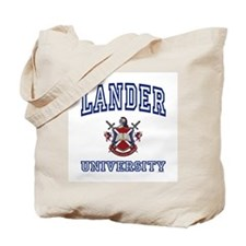 LANDER University Tote Bag