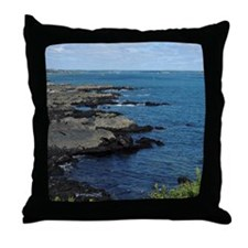Maine's Rockey Coast Throw Pillow