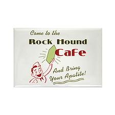 Rock Hound Cafe Rectangle Magnet