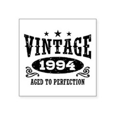 "Vintage 1994 Square Sticker 3"" x 3"""